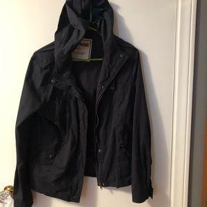 Garage navy utility jacket